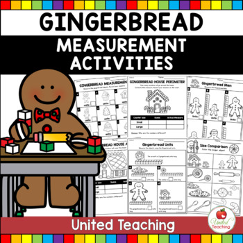 Gingerbread Measurement Math Centers