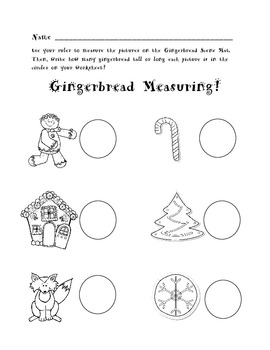Gingerbread Measuring Activity
