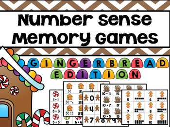 Gingerbread Memory Games