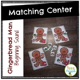 Gingerbread Men Beginning Sound Match
