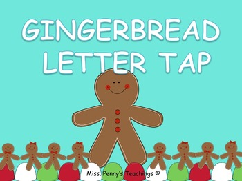 Gingerbread Men Letter Sounds