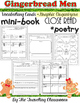 Gingerbread Men - Close Reading - Mini Book - Poetry