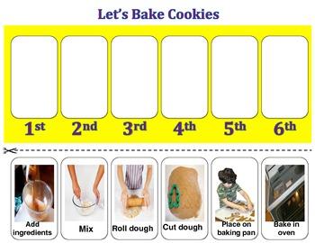 Gingerbread Men Cookies (Sequencing)