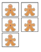 Gingerbread Men Counting File Folder Game