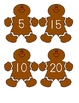 Gingerbread Men Counting by 5's
