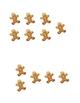 Gingerbread Men Dot Cards