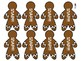 Gingerbread Men Journeys Sight Word Snap For FIRST GRADE: Unit 3