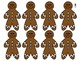 Gingerbread Men Journeys Sight Word Snap For FIRST GRADE: Unit 1