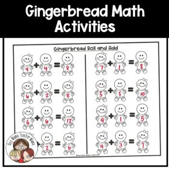 Gingerbread Men Math Activities