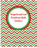 Gingerbread Men Math Centers