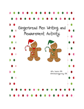 Gingerbread Men Math and Literacy Activities