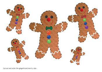 Gingerbread Men Maths Resource Pack