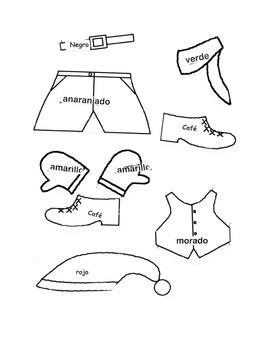 Gingerbread Men- La Ropa- Christmas Clothes-Navidad