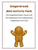 Gingerbread Mini-Activity Pack