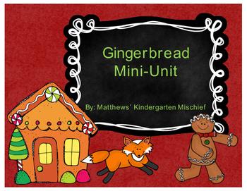 Gingerbread Mini Unit