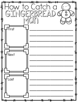 Gingerbread Mini Unit--ELA & Math Activities