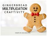 Gingerbread Multiplication Craft