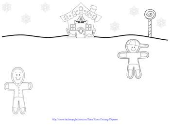 Gingerbread Multiplication Craftivity