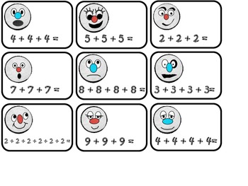 Multiplication Games Gingerbread Style!!