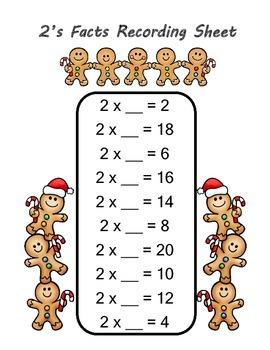 Gingerbread Multiplication Missing Factors Game
