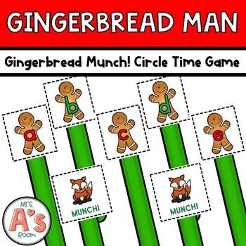 Gingerbread Munch Circle Time Game