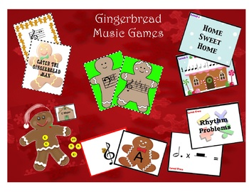 Gingerbread Music Games