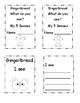 Gingerbread My Five Senses Lap Flap Booklet