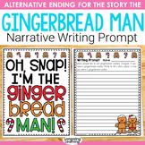 Gingerbread Man Narrative Writing Prompt