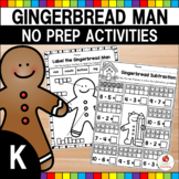 Gingerbread Activities - Math and Literacy