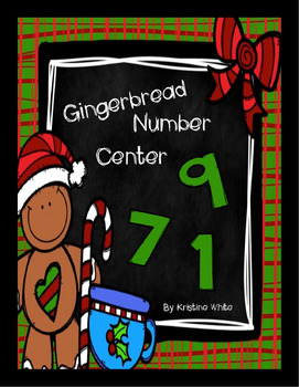 Gingerbread Number Center