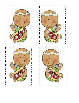Gingerbread Number Match