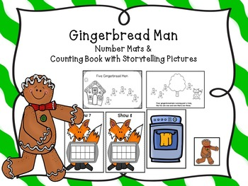 Gingerbread Number Mats and Counting Book