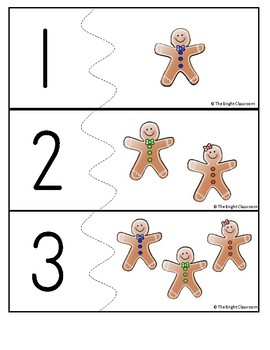 Gingerbread Number Puzzles