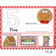 1-20 Gingerbread Number Recognition Mats | Ten-frames, Array, Tally Marks