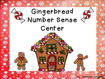 Gingerbread Number Sense Center