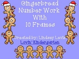 Gingerbread Number Work {Numbers 1-20}
