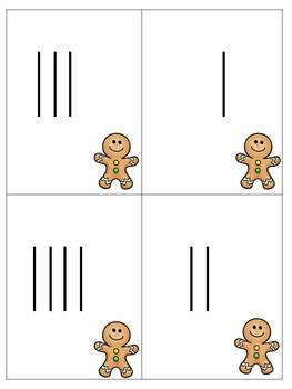 Gingerbread Number Work {Numbers 1-20}