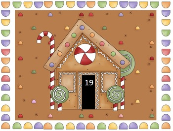 Gingerbread Numerals Kindergarten Center