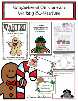 Gingerbread On The Run: A Writing Ed-venture
