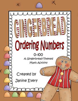 Gingerbread Ordering Numbers