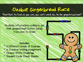Gingerbread Ozobot Race!
