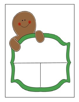 Gingerbread Part Part Whole