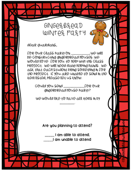 Gingerbread Party Pack
