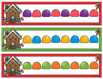 Gingerbread Pattern Cards {AB, ABC, ABB, AAB}