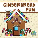 Gingerbread Fun File Folder Game
