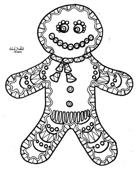 Gingerbread Person!