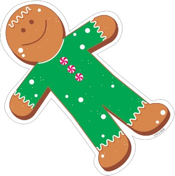 Gingerbread Person - Holiday Cut-Out Decor