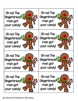 Gingerbread Phonics: Ending Digraphs Pack