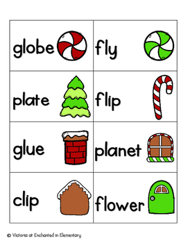 Gingerbread Phonics: L-Blends Pack
