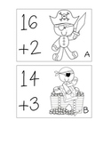 "Gingerbread Pirate ""Walk the Room"" Addition and Subtraction to 20"